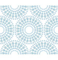 Abstract seamless pattern with decorative circles vector