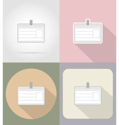 business and finance flat icons 12 vector image vector image