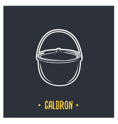 Caldron vector