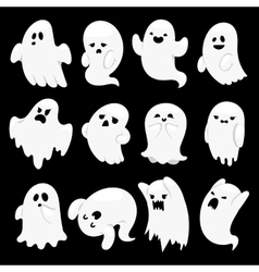 Ghost character characters vector