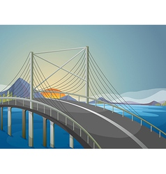 A long bridge vector