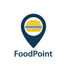 Food point icon vector