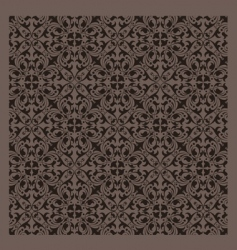 vintage pattern series vector image