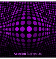 Abstract Violet Technology Background vector image vector image