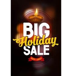 Diwali sale poster vector