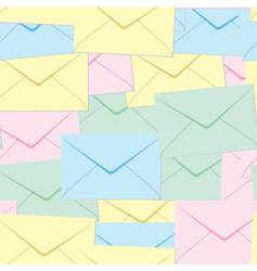envelopes background vector image