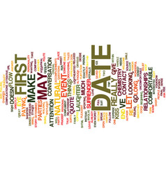 First date chemistry text background word cloud vector