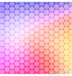 gradient blue color and triangle polygon pattern vector image vector image