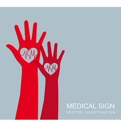 Medical sign vector