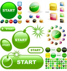 start vector image