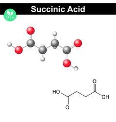 Succinic acid molecule vector