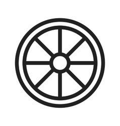 Vehicle wheel vector