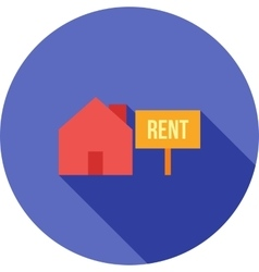 House on rent vector