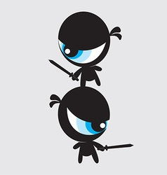 Eyeball Ninjas vector image