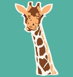 Giraffe abstract vector