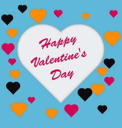 love invitation card happy valentine s day vector image