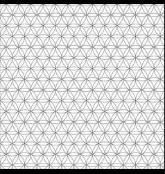 modern sacred geometry seamless pattern vector image