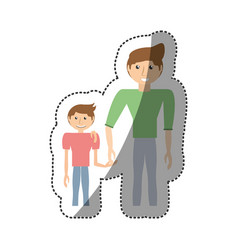 People together family image vector