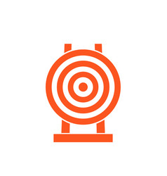 target icon sign vector image vector image