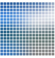 White blue shades rounded mosaic background over vector