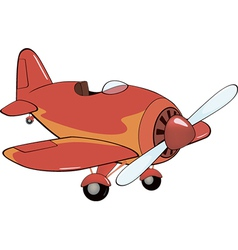 The red plane vector