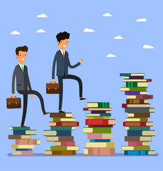 Concept of business education vector