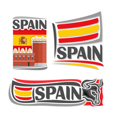 Logo for spain vector