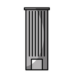 urban building tower vector image