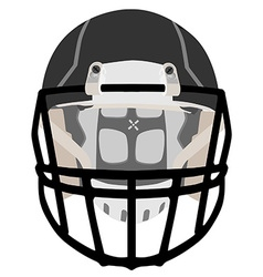 American football helmet vector