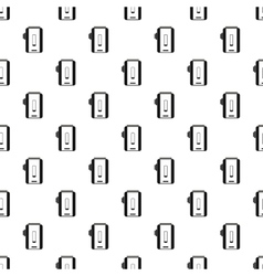 Box mod vaporizer pattern simple style vector image