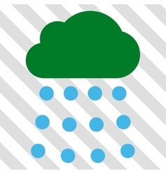 Rain Cloud Icon vector image