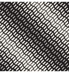 Seamless pavement halftone digonal lines vector