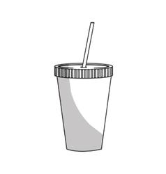 soda drink icon vector image