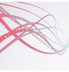 Speed waves modern background vector