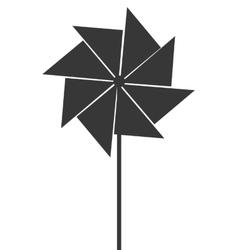 Toy pinwheel icon vector