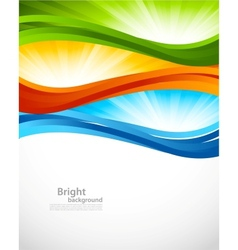 Bright colorful background vector image