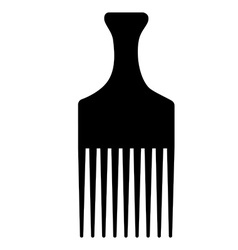 Hair comb vector