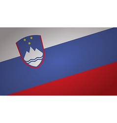 Slovenia flag vector