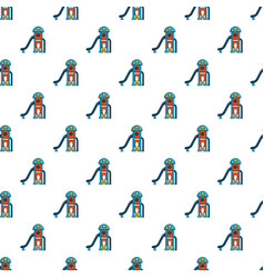 Kids slide pattern seamless vector