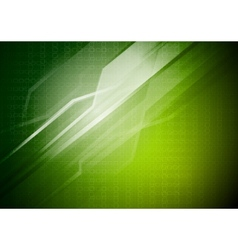 Green technical background vector