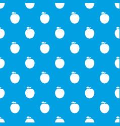 Black apple pattern seamless blue vector