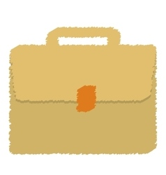 Business suitcase icon image vector