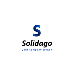 Letter s logo template for your company vector