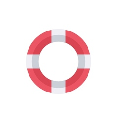 Lifebuoy Support help symbol vector image