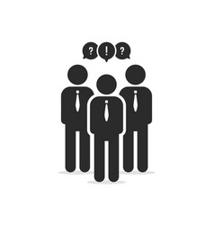 member users or businessperson vector image vector image