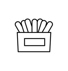 napkins icon vector image