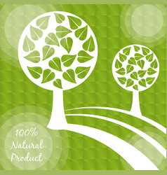 natural product food vegetarian diet vector image
