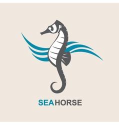 Sea horse image vector