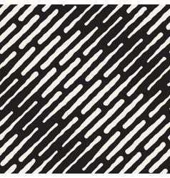 Seamless hand drawn daigonal dash lines vector