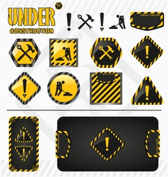 Under construction set vector